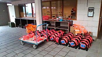 Uitrusting werkbussen geleverd Serviceregelen.nl Elektra